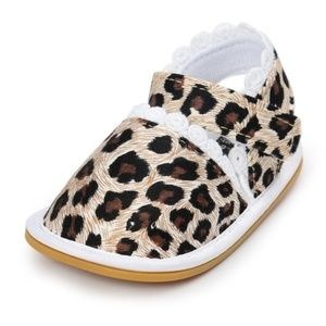 Other - Leopard Cheetah Baby fashion walker shoes - NWT